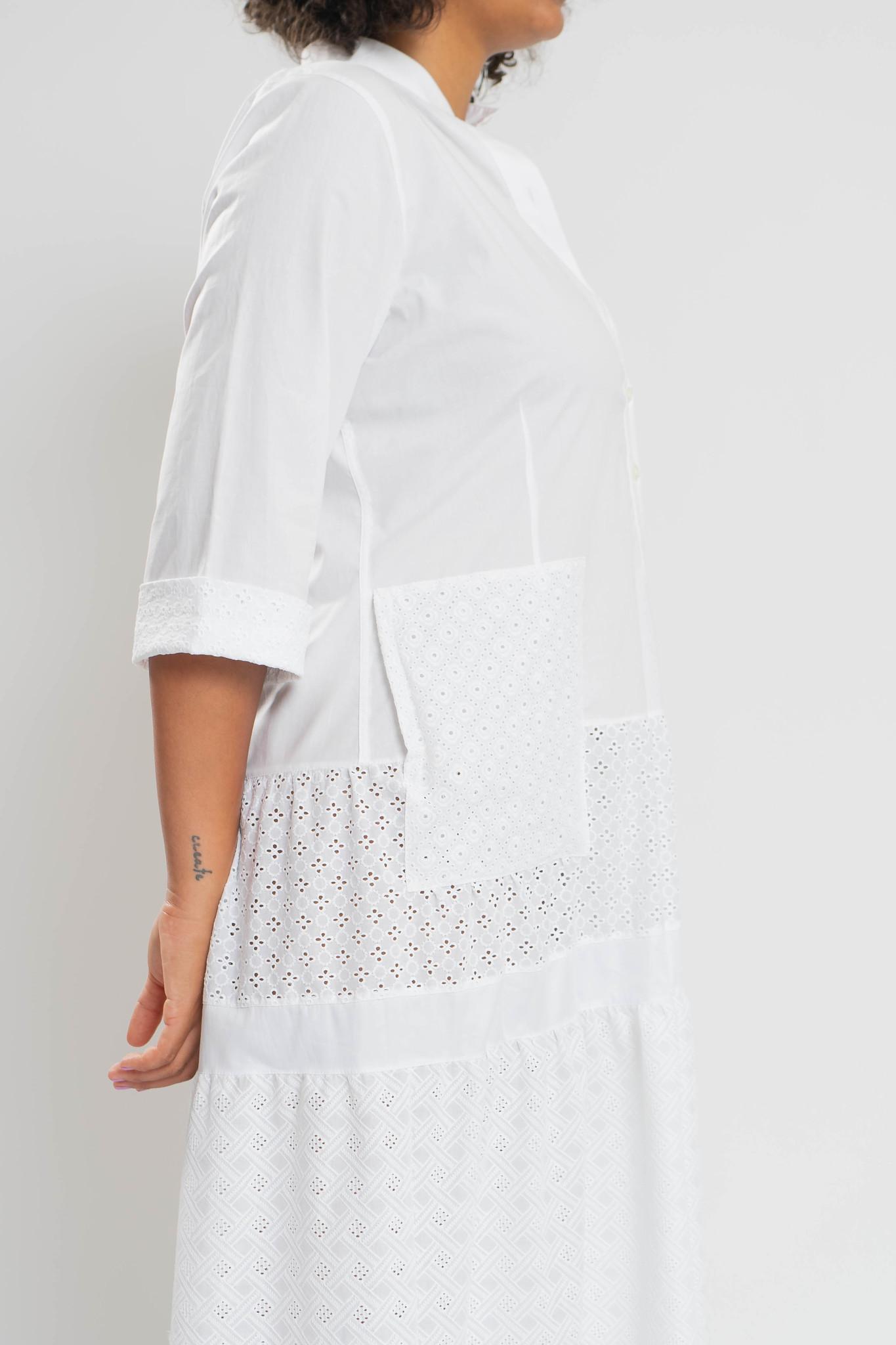 RAIKA Upcycle Kleid aus Baumwolle-3