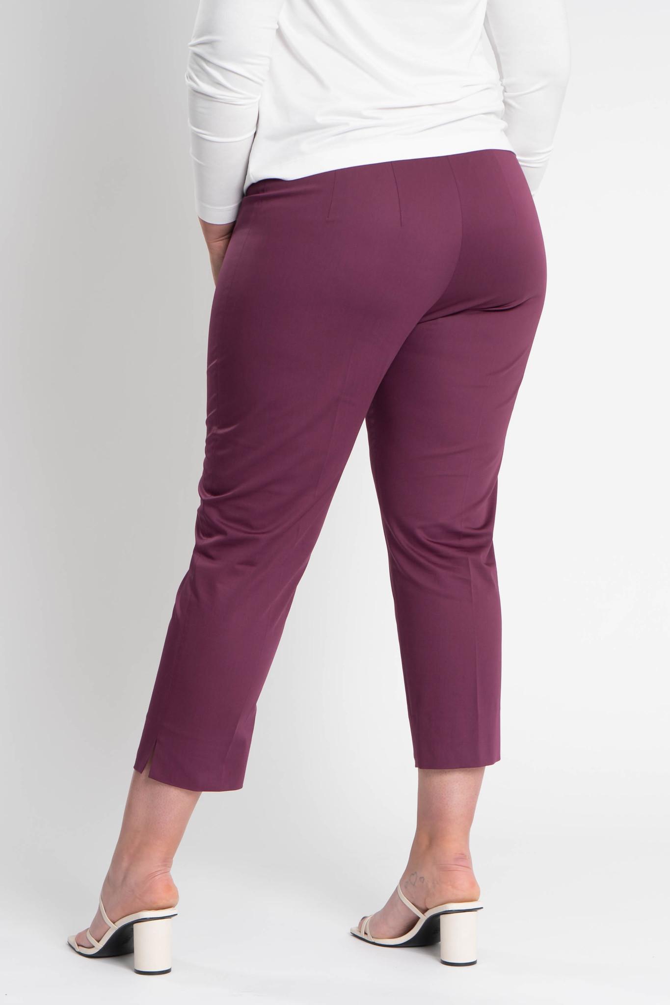 MIU Trousers in Cotton stretch-3