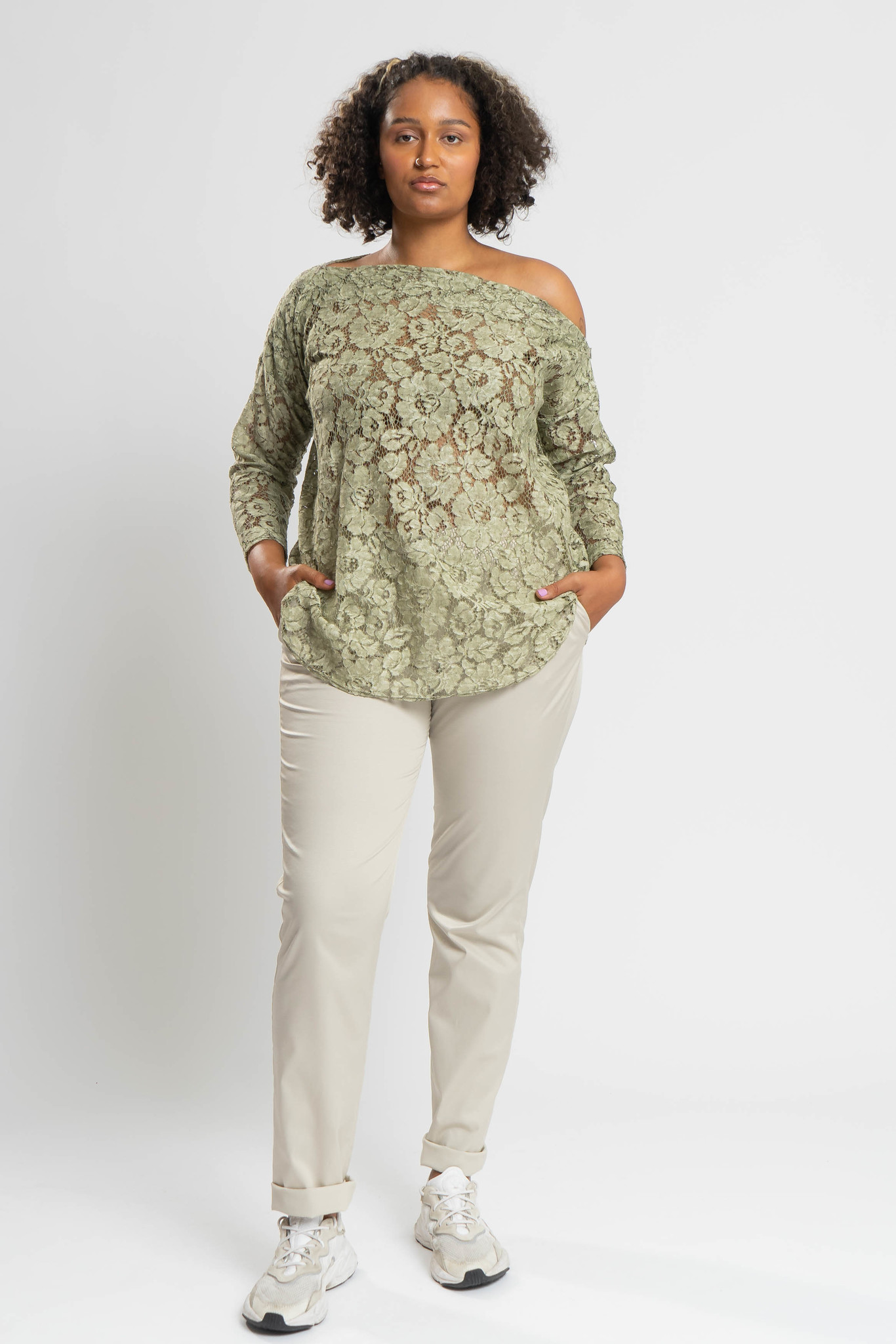 TAINA Top aus Polyester-Spitze-4