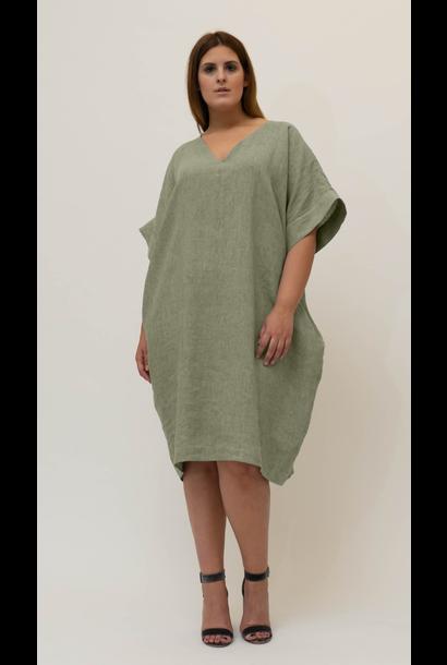 NADINE Kleid aus Leinen