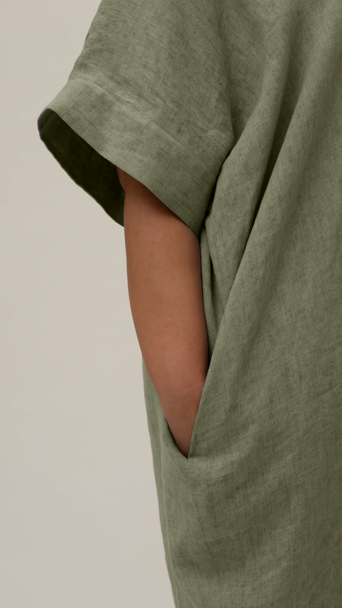 NADINE Kleid aus Leinen-2