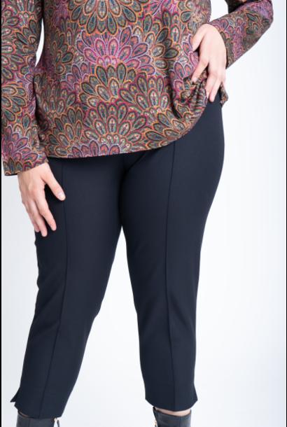 MIU Trousers in Cotton stretch