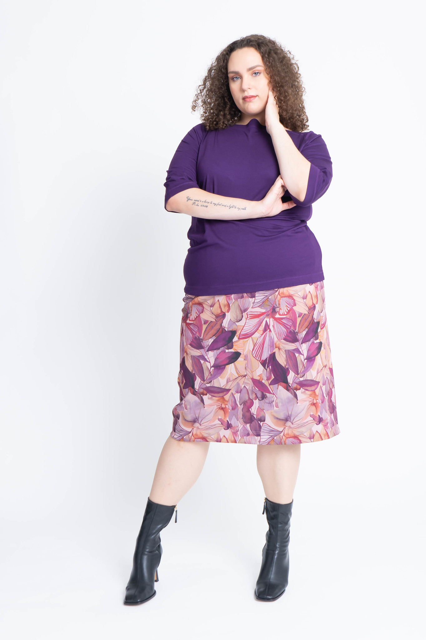 Charis skirt in double Jersey-7