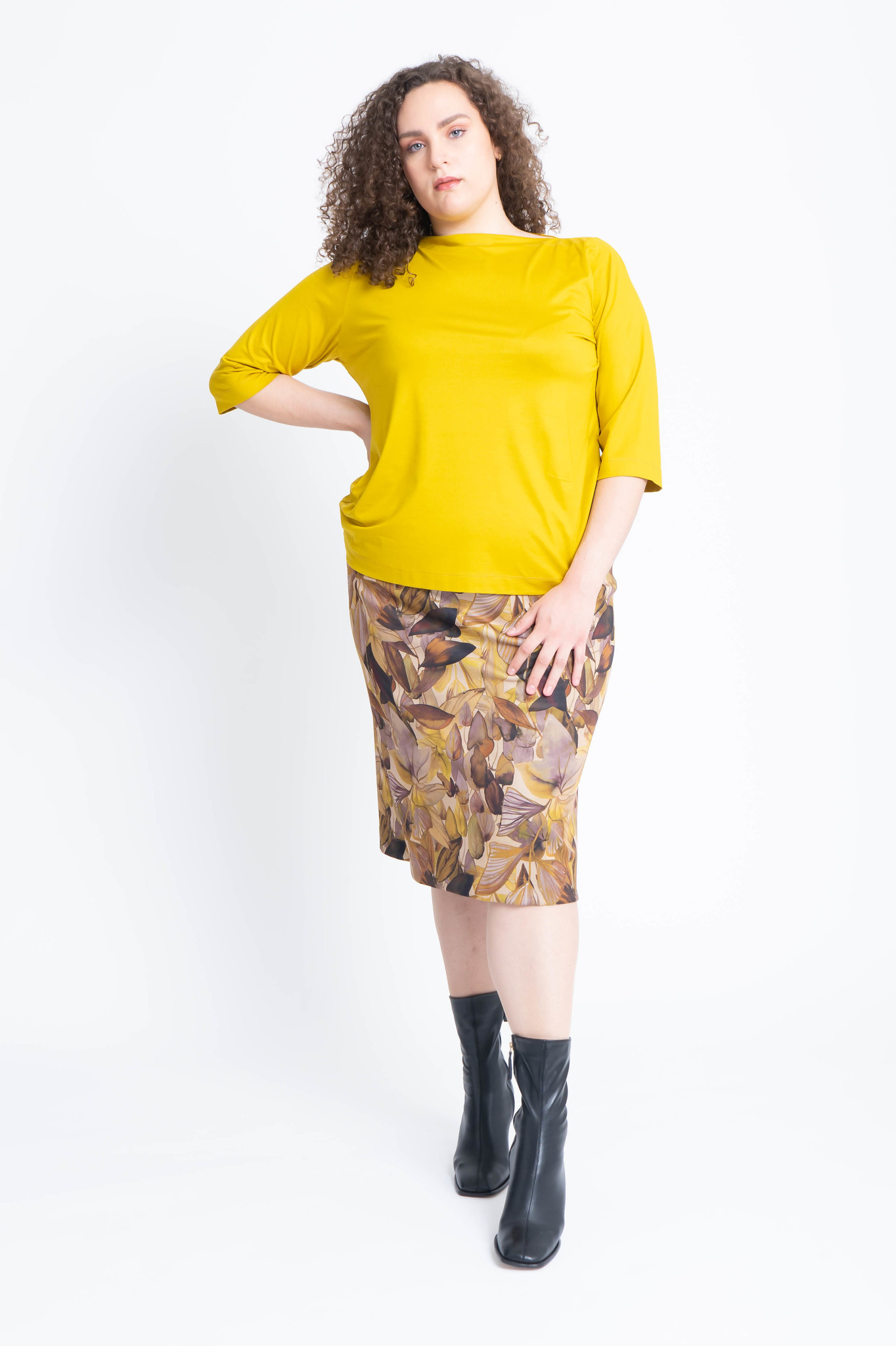Charis skirt in double Jersey-3