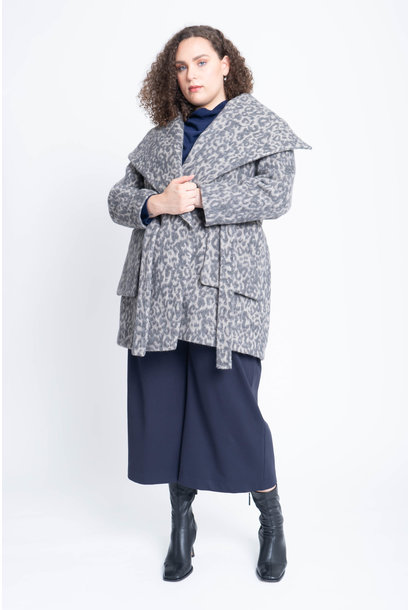 CORA Mantel aus Woll-Kaschmir Mix