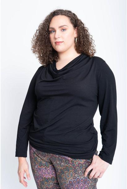 VENUS Shirt aus Viskose und Seide