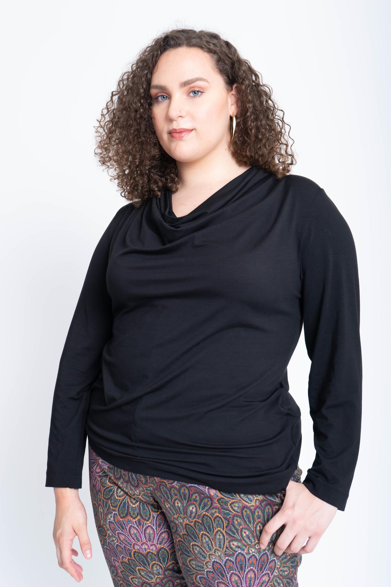 VENUS Shirt aus Viskose und Seide-1