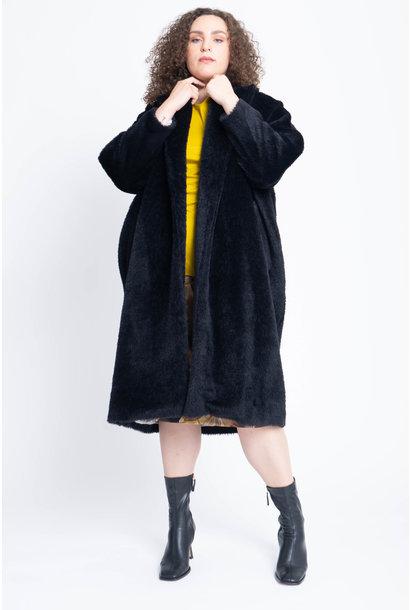 EASY 1 Mantel aus Wolle und Mohair