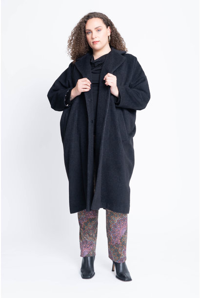 EASY Coat in Wool-Cashmere blend
