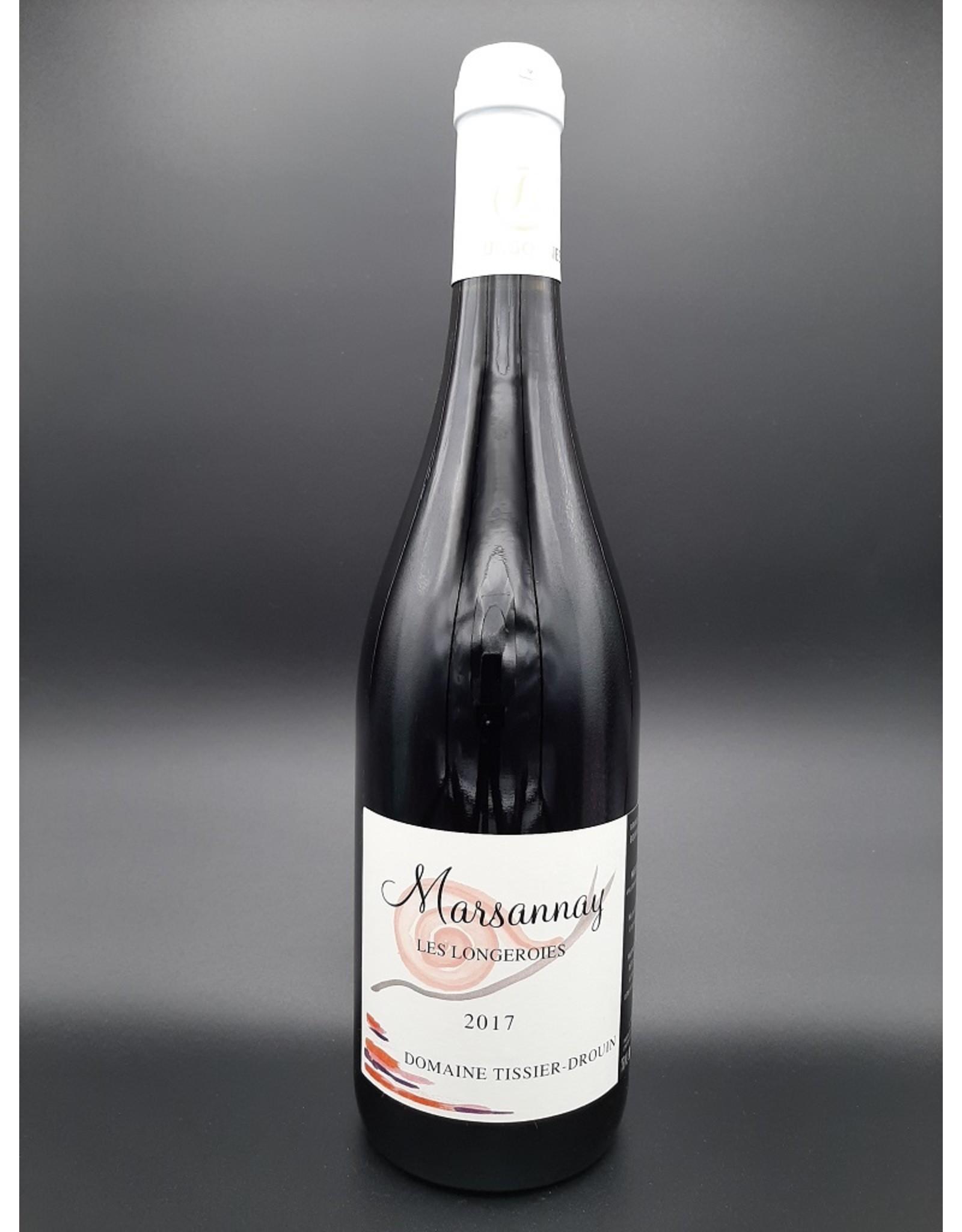 Domaine Tissier Drouin Marsannay Longeroies rouge 2017