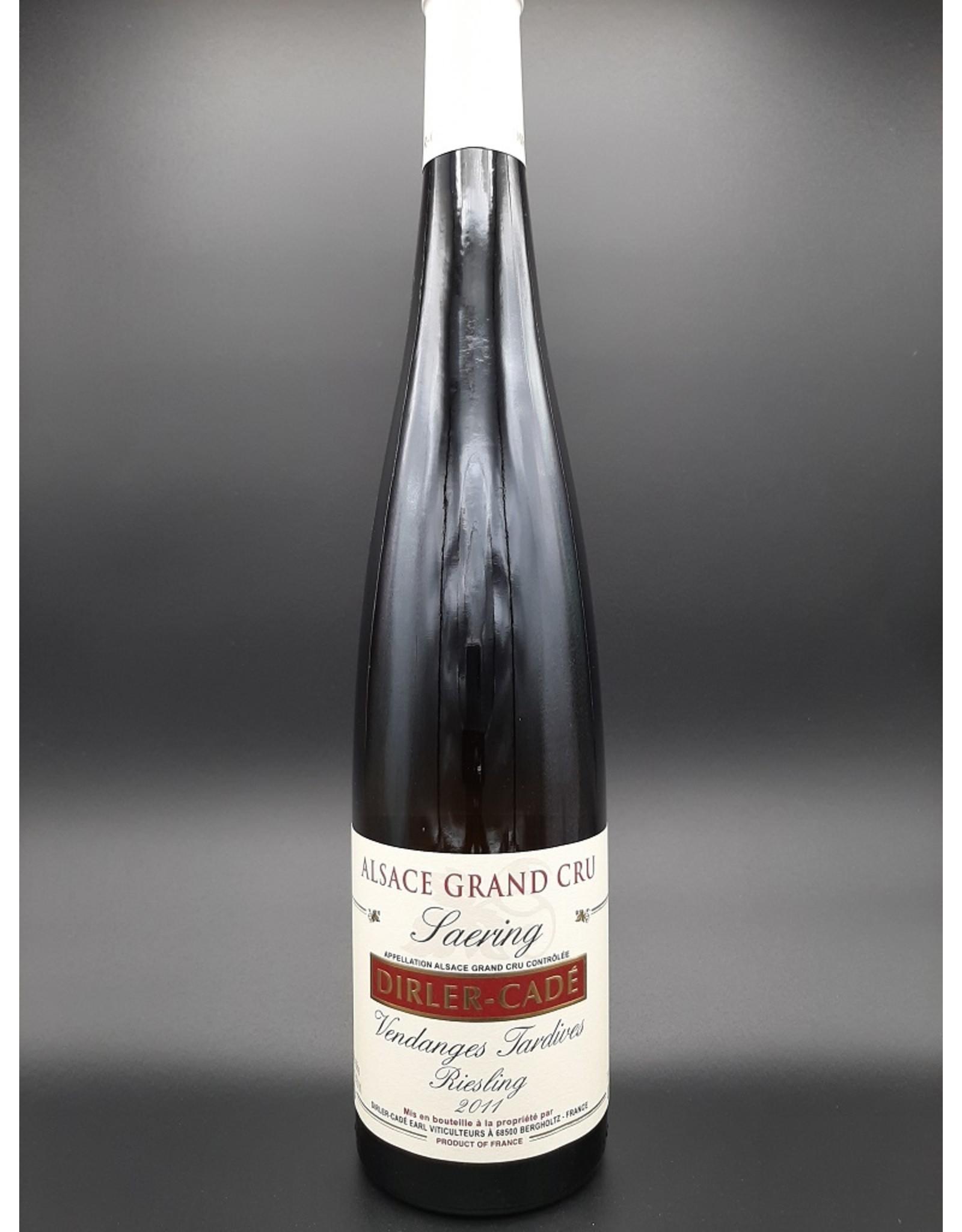 Domaine Dirler-Cadé Riesling Grand Cru Saering Vendange Tardive 2011