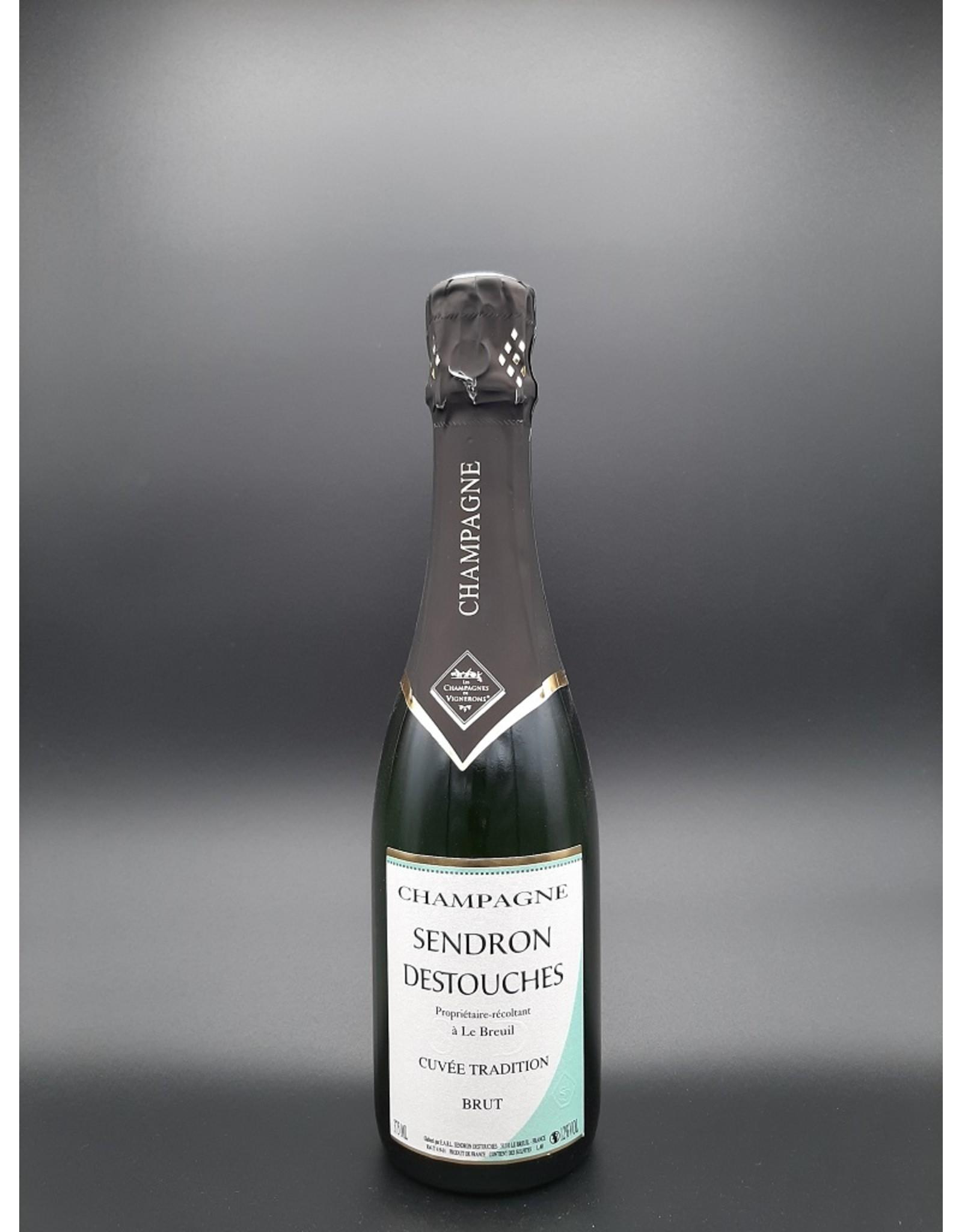 Champagne Sendron-Destouches Champagne cuvée Tradition Brut 37,5cl