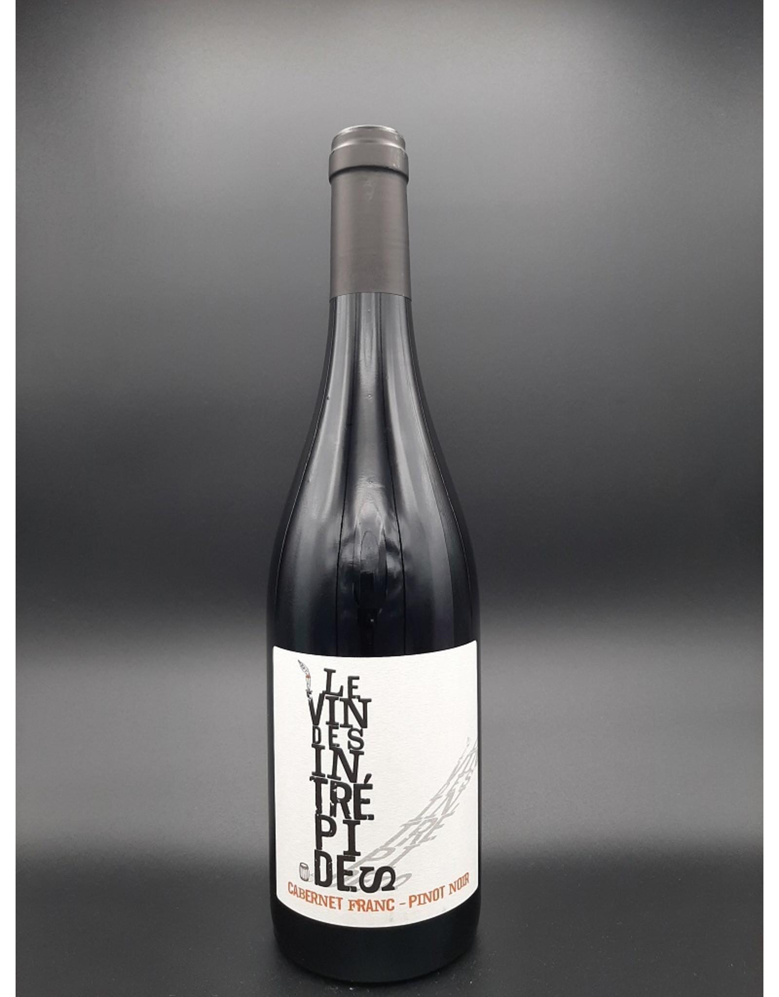 Jeff Carrel Le vin des Intrépides
