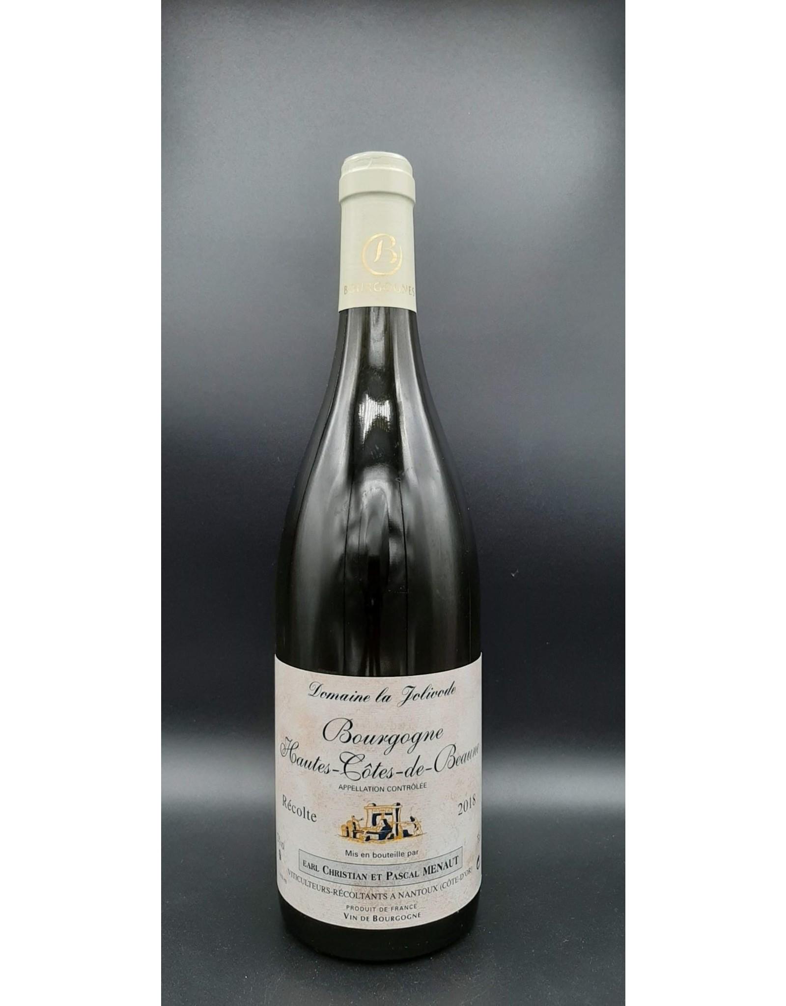 Domaine de la Jolivode Hautes-Côtes de Beaune blanc - La Jolivode -  2018