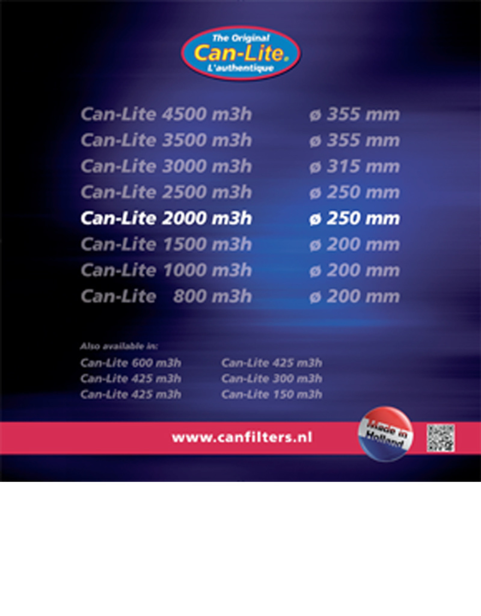 CAN CAN LITE FILTER 2000