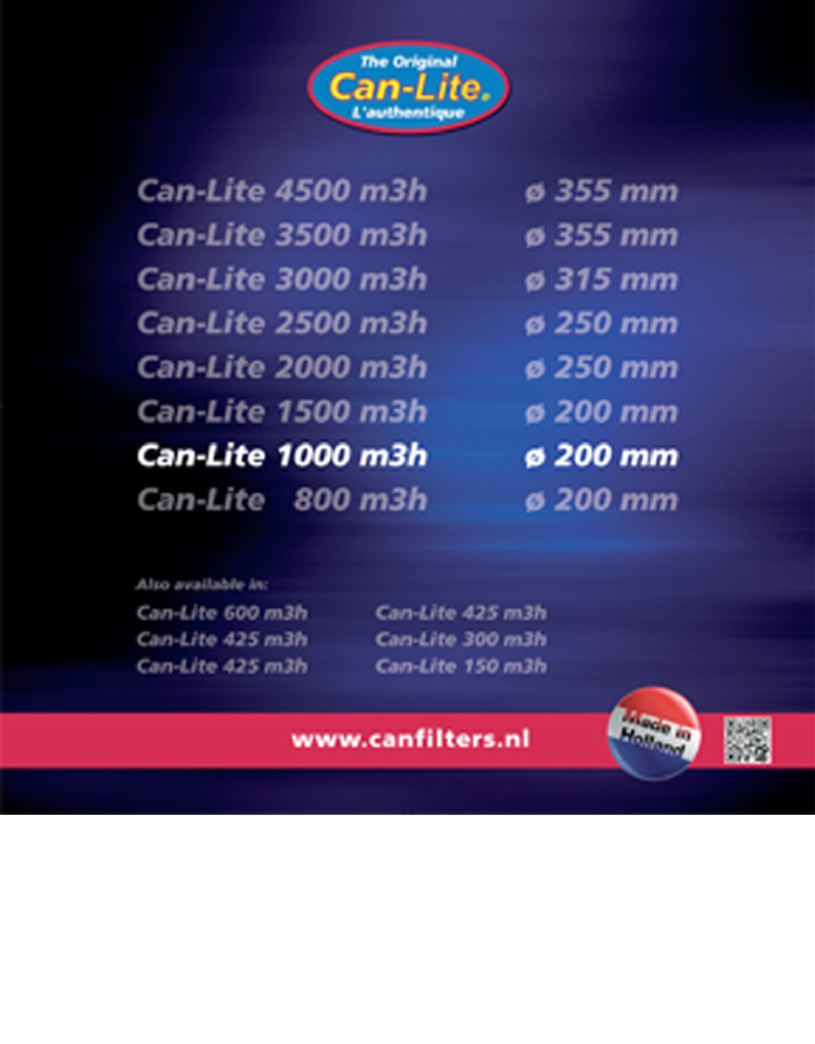 CAN CAN LITE FILTER 1000/200