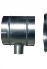 DimLux T-Stuk 125mm-50mm-125mm
