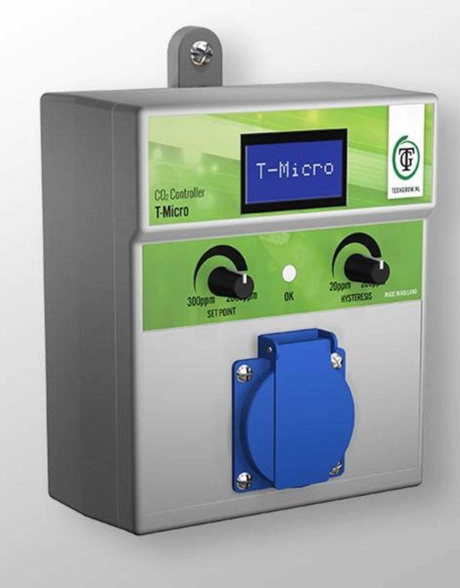 TechGrow TECHGROW T-MICRO CO2 CONTROLLER EXCL SENSOR