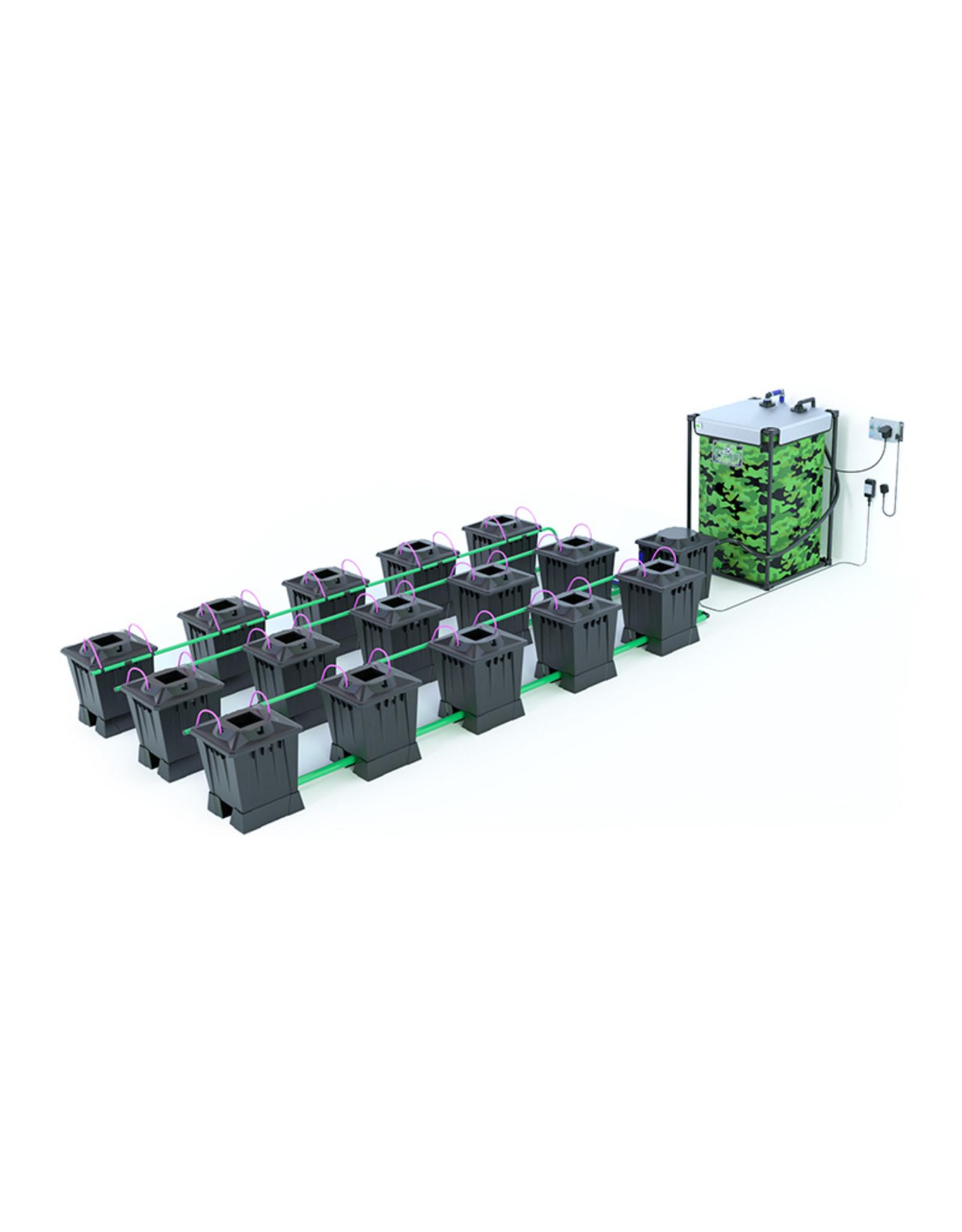 ALIEN HYDROPONICS ALIEN AERO BLACK SERIES 15L  15 POT SYSTEM