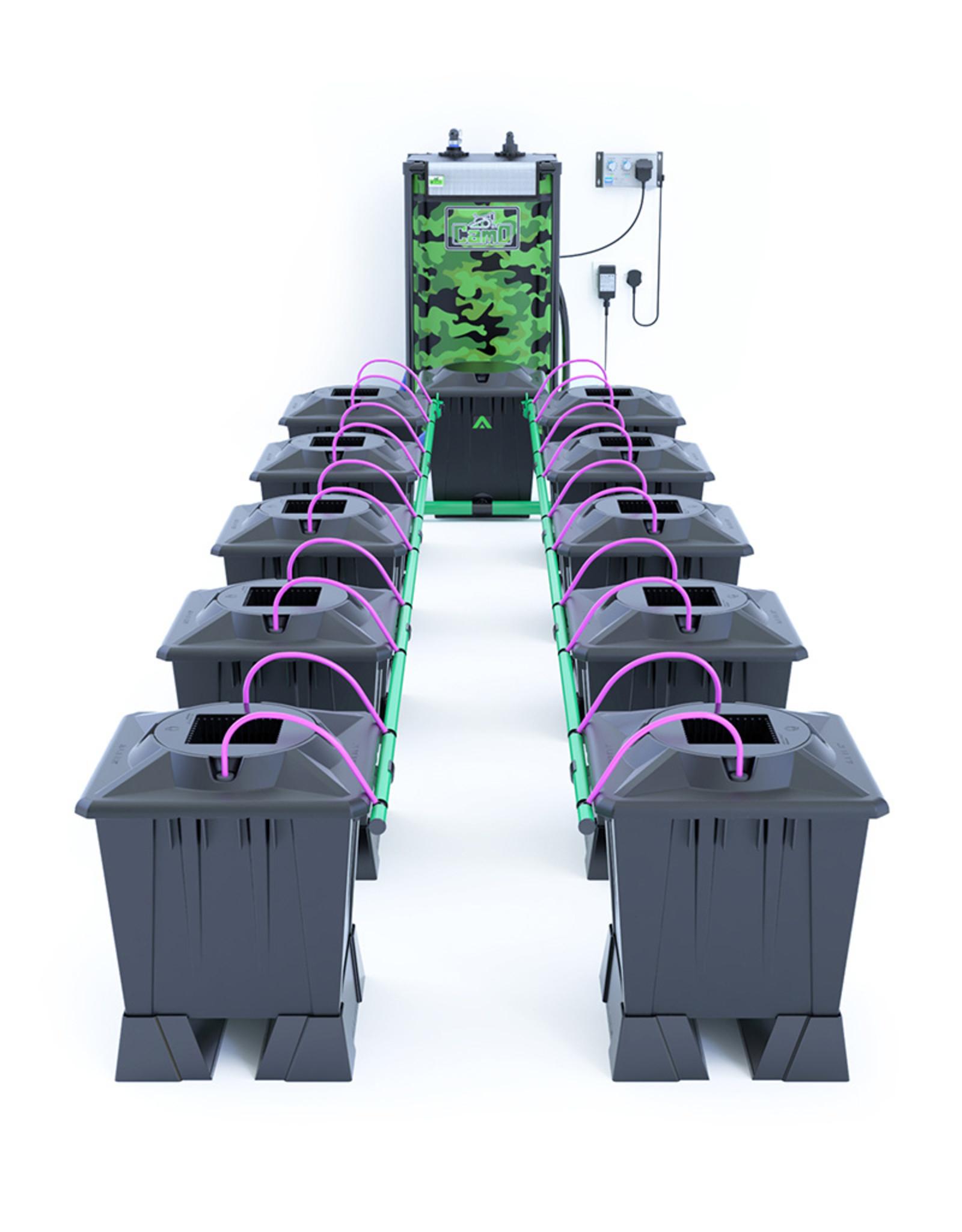 ALIEN HYDROPONICS ALIEN AERO BLACK SERIES 15L  10 POT SYSTEM
