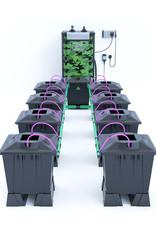 ALIEN HYDROPONICS ALIEN AERO BLACK SERIES 15L  8 POT SYSTEM