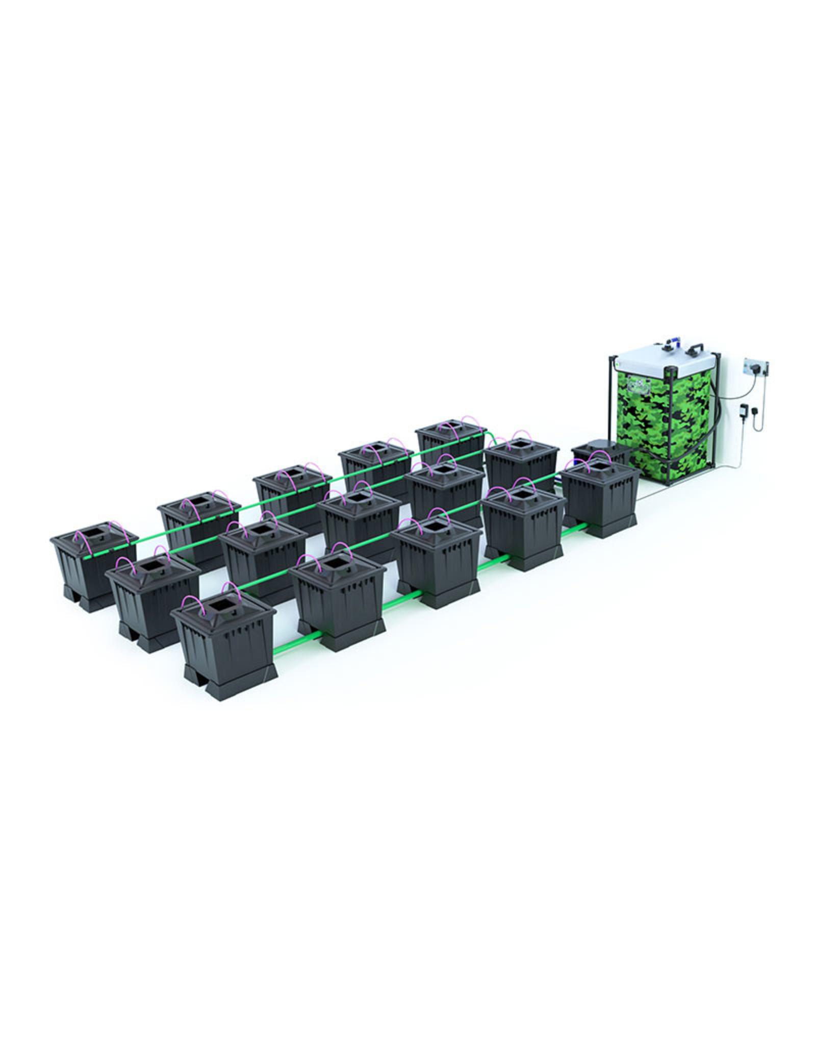 ALIEN HYDROPONICS ALIEN AERO BLACK SERIES 30L  15 POT SYSTEM