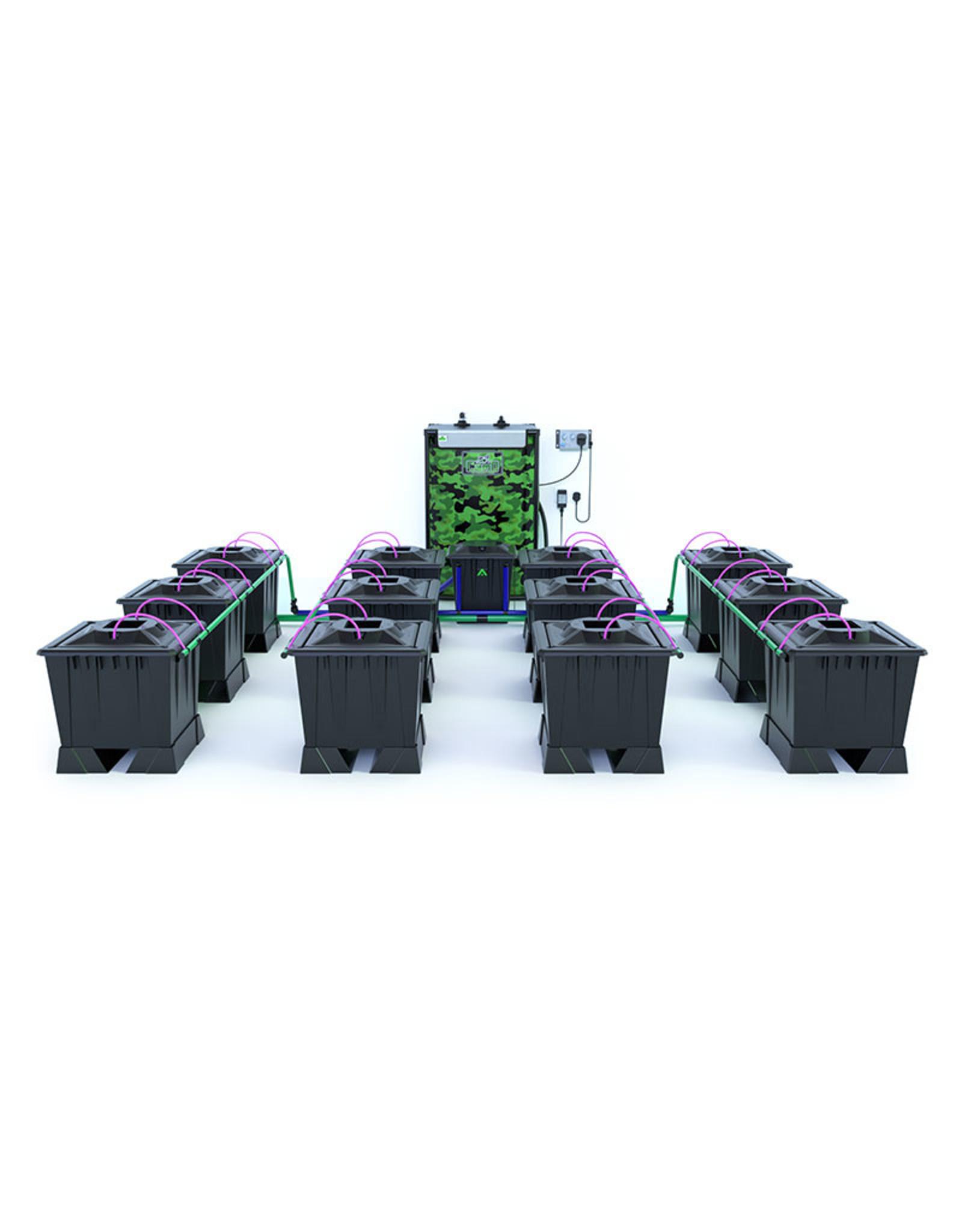 ALIEN HYDROPONICS ALIEN AERO BLACK SERIES 30L  12 POT SYSTEM