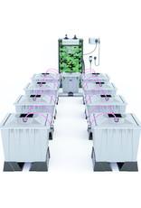 ALIEN HYDROPONICS AERO PRO SILVER SERIES 30L  8 POT SYSTEM