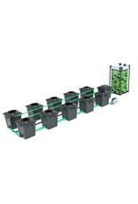 ALIEN HYDROPONICS RDWC BLACK SERIES 20L  10 POT SYSTEM
