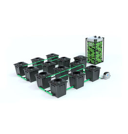 ALIEN HYDROPONICS RDWC BLACK SERIES 20L  12 POT SYSTEM
