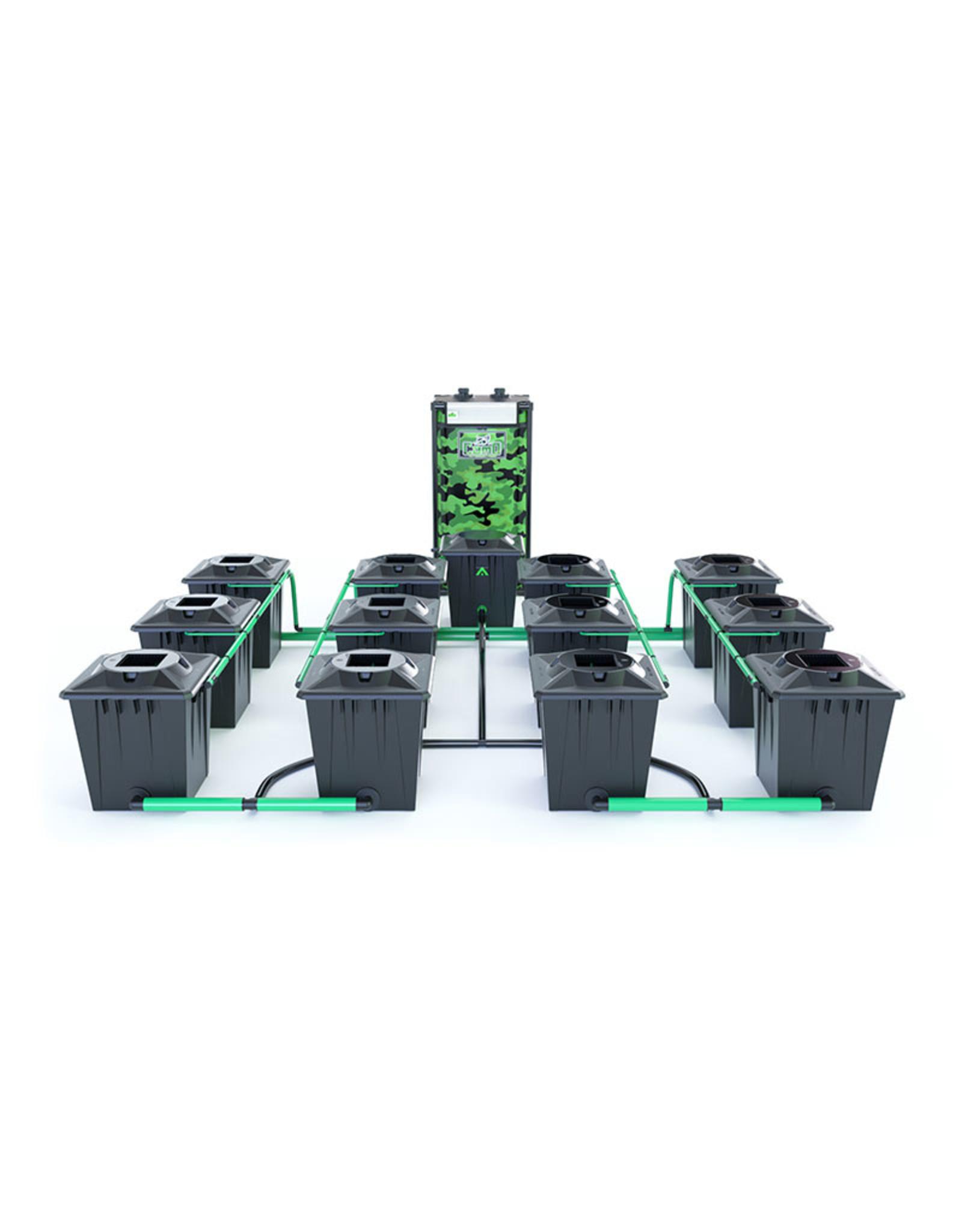 ALIEN HYDROPONICS RDWC BLACK SERIES 20L  12 POT SYSTEM