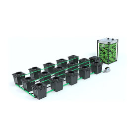 ALIEN HYDROPONICS RDWC BLACK SERIES 20L  15 POT SYSTEM