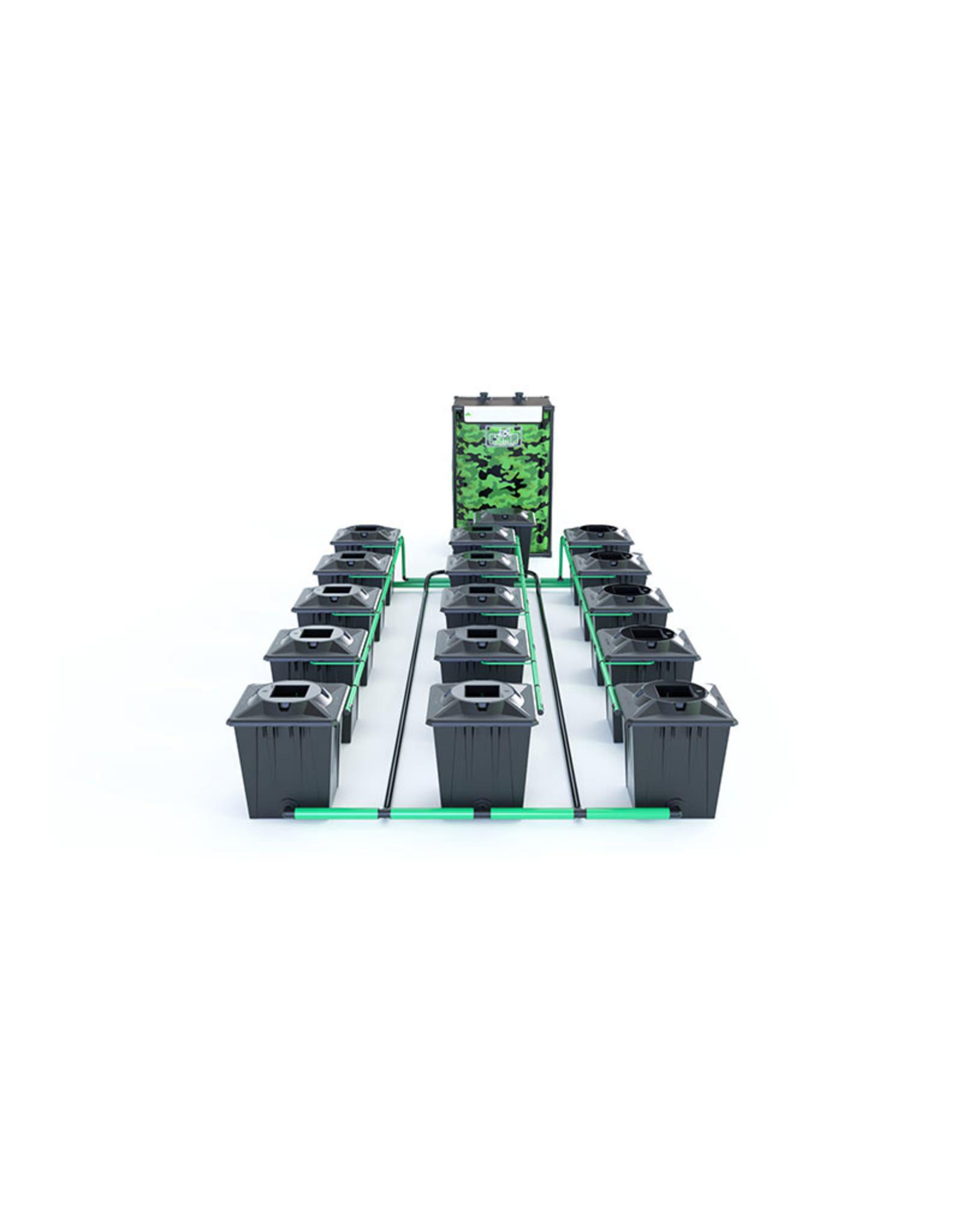 ALIEN HYDROPONICS RDWC BLACK SERIES 20L  15 POT SYSTEM