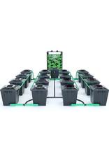 ALIEN HYDROPONICS RDWC BLACK SERIES 20L  16 POT SYSTEM
