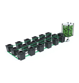 ALIEN HYDROPONICS RDWC BLACK SERIES 20L  18 POT SYSTEM