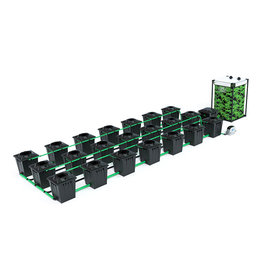 ALIEN HYDROPONICS RDWC BLACK SERIES 20L  21 POT SYSTEM