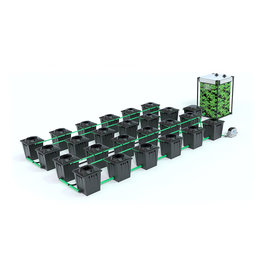 ALIEN HYDROPONICS RDWC BLACK SERIES 20L  24 POT SYSTEM
