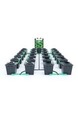 ALIEN HYDROPONICS RDWC BLACK SERIES 20L  24 POT SYSTEM