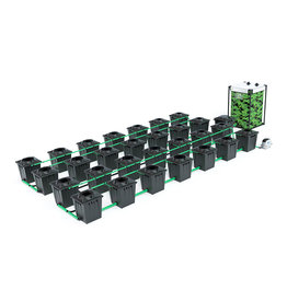 ALIEN HYDROPONICS RDWC BLACK SERIES 20L  28 POT SYSTEM