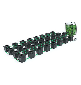ALIEN HYDROPONICS RDWC BLACK SERIES 20L  32 POT SYSTEM