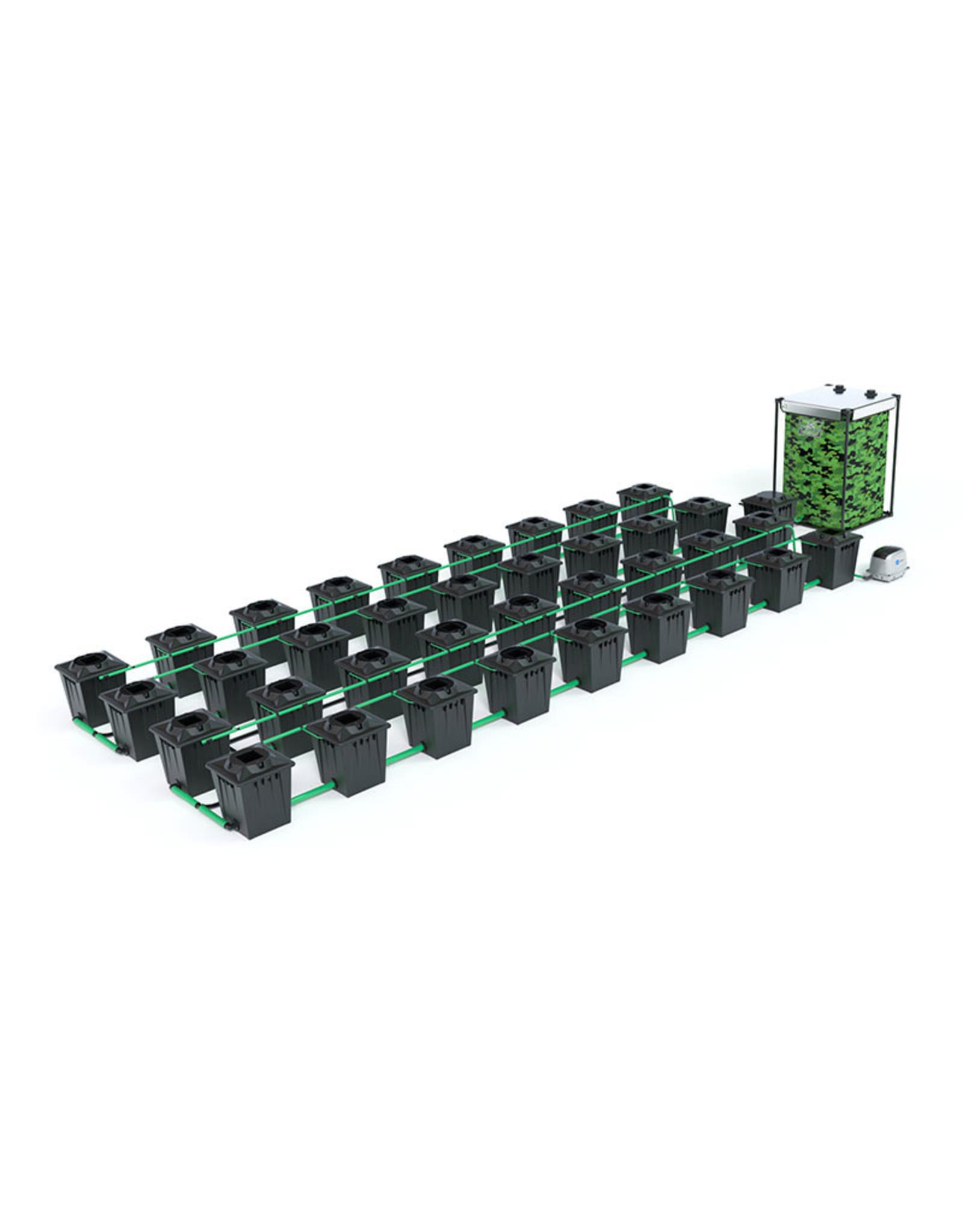 ALIEN HYDROPONICS RDWC BLACK SERIES 20L  36 POT SYSTEM