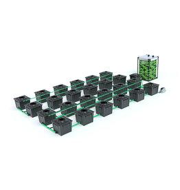 ALIEN HYDROPONICS RDWC BLACK SERIES 36L  24 POT SYSTEM