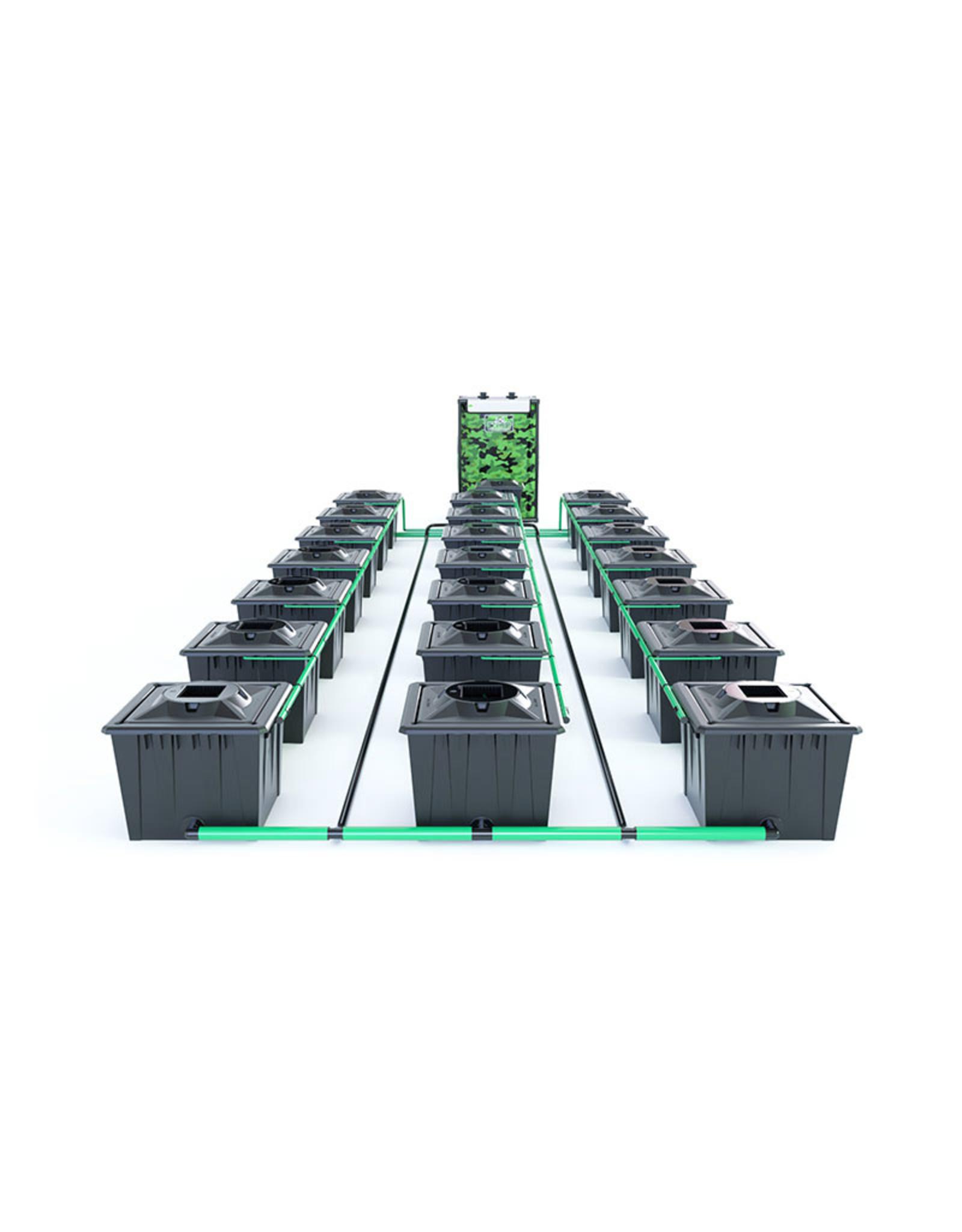 ALIEN HYDROPONICS RDWC BLACK SERIES 36L  21 POT SYSTEM