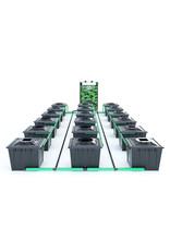 ALIEN HYDROPONICS RDWC BLACK SERIES 36L  18 POT SYSTEM