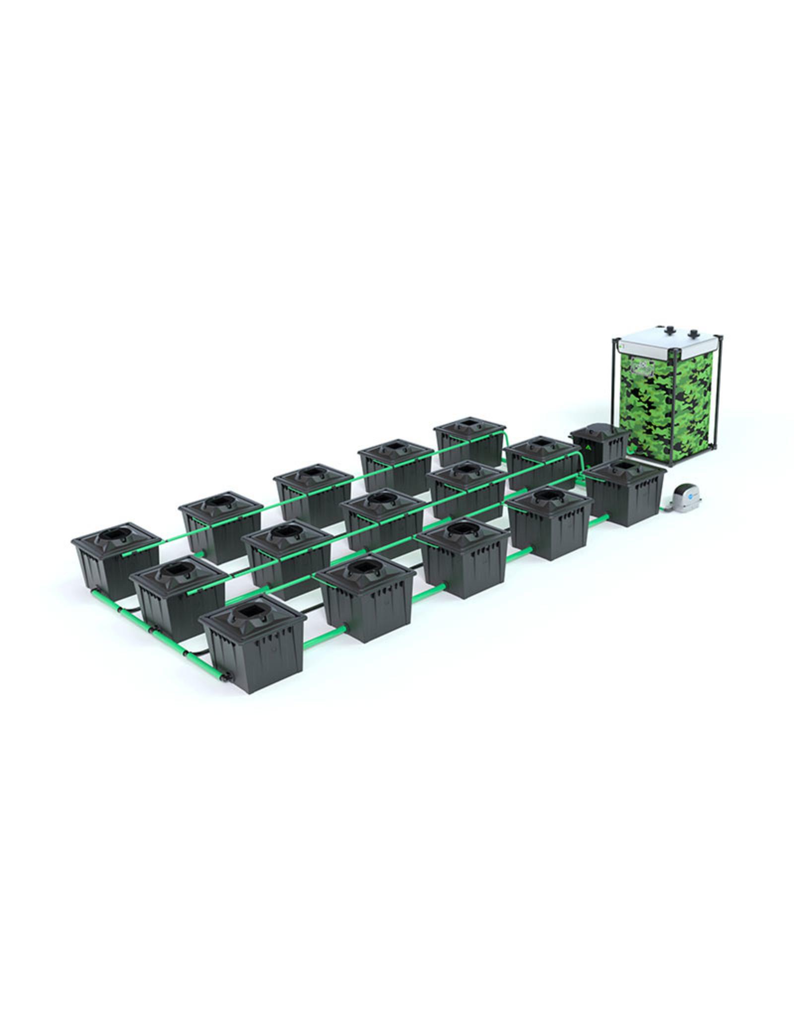 ALIEN HYDROPONICS RDWC BLACK SERIES 36L  15 POT SYSTEM