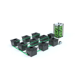 ALIEN HYDROPONICS RDWC BLACK SERIES 36L  9 POT SYSTEM