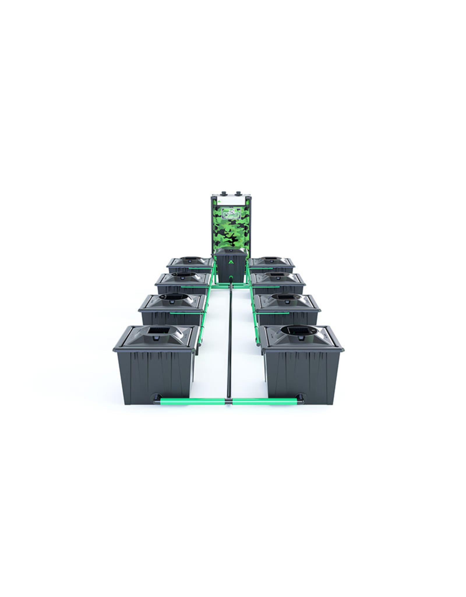 ALIEN HYDROPONICS RDWC BLACK SERIES 36L  8 POT SYSTEM
