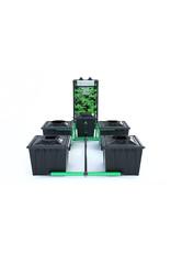 ALIEN HYDROPONICS RDWC BLACK SERIES 36L  4 POT SYSTEM