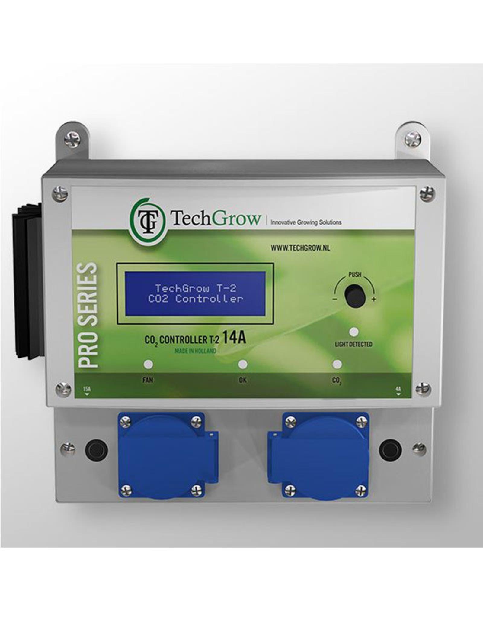TechGrow TECHGROW T2 PRO CO2 CONTROLLER EXCL SENSOR 4,5A - 7A - 14A