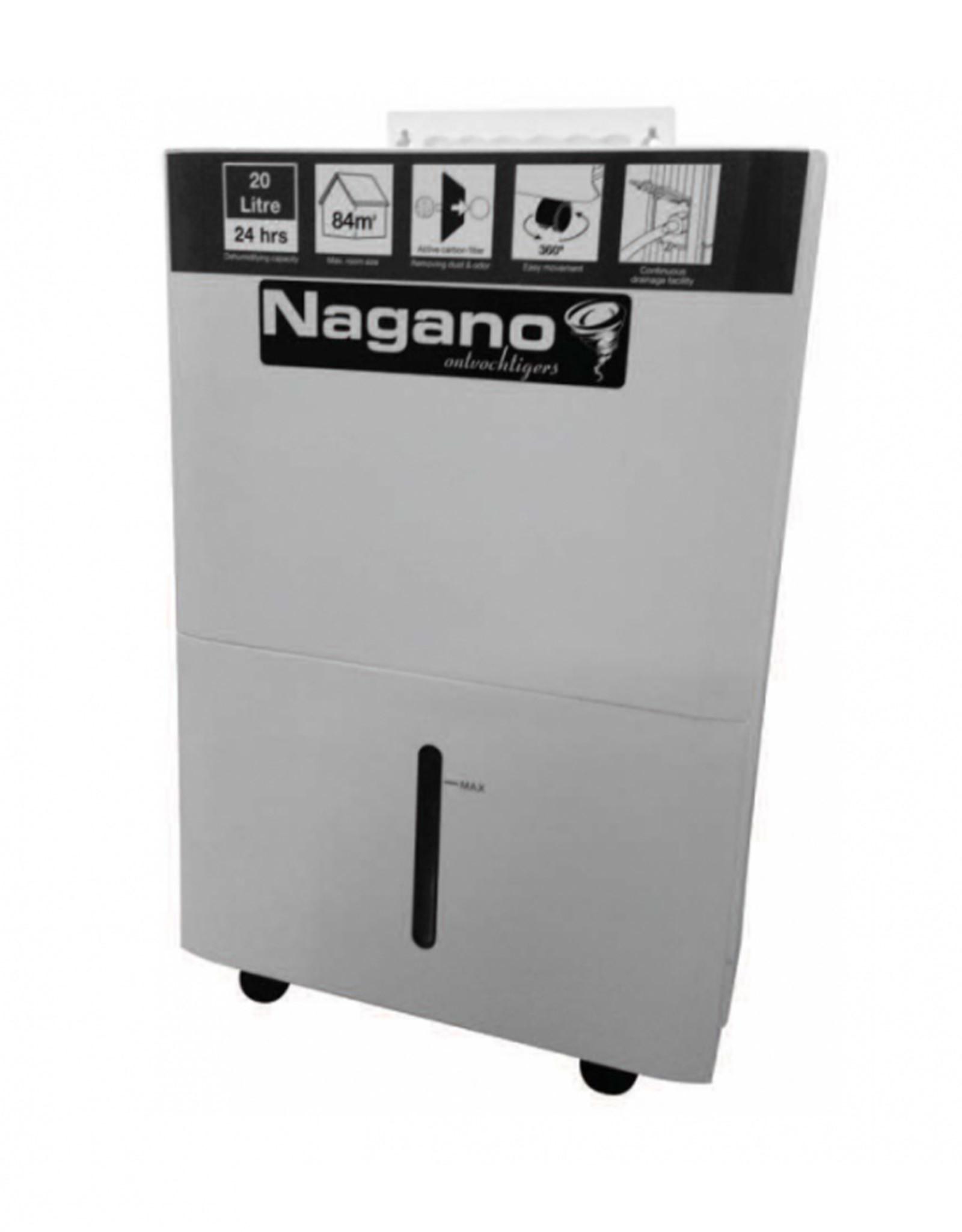 RAM NAGANO ONTVOCHTIGER 20L/24H 4,8L RESERVOIR
